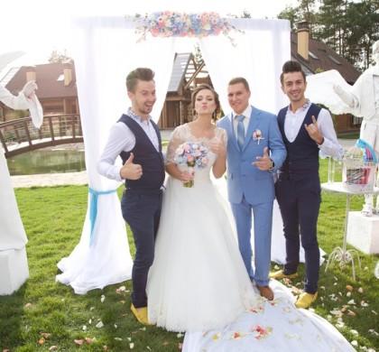 Партнер Весілля Переможця. Andreas & Moskin