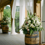 trending-country-wedding-decoration-ideas-with-wine-barrels
